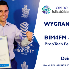 Loredo RES Laureatem PropTech Festival 2019