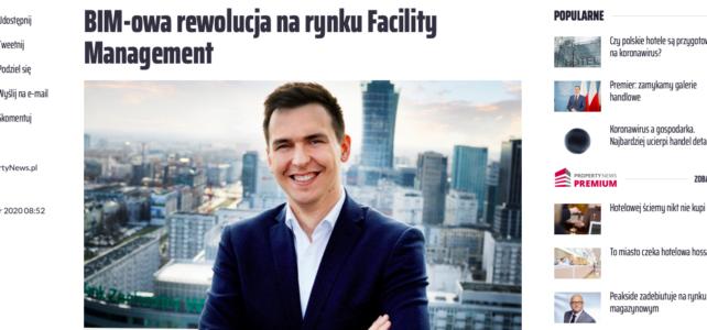 Wywiad – BIM-owa rewolucja na rynku Facility Management
